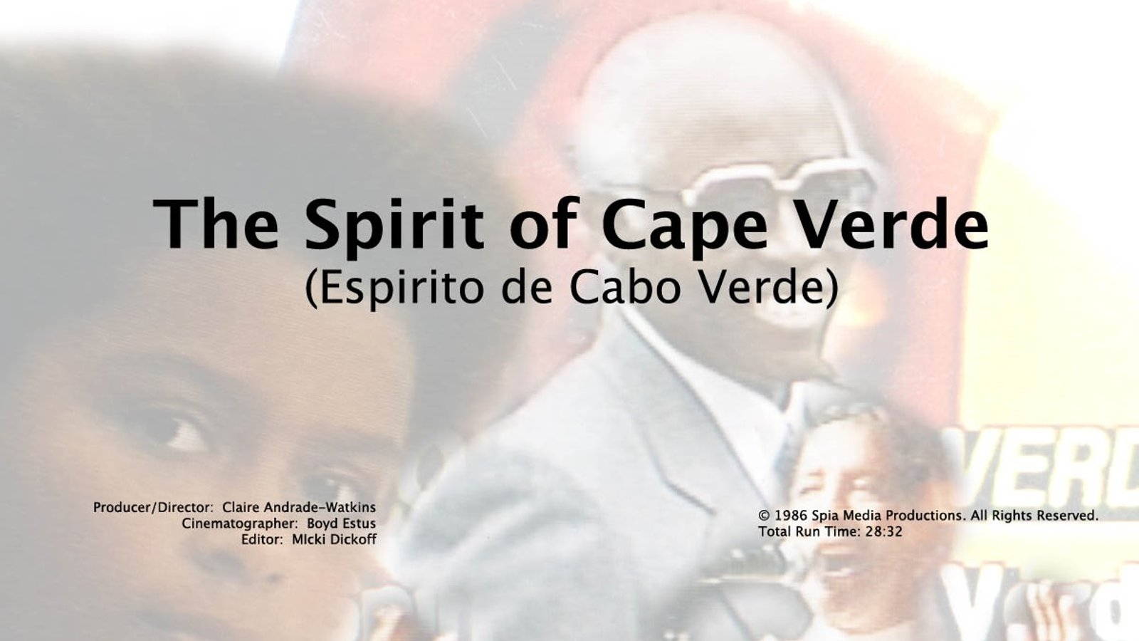 Spirit of Cape Verde - The First President of Cape Verde After Independence Visits New England