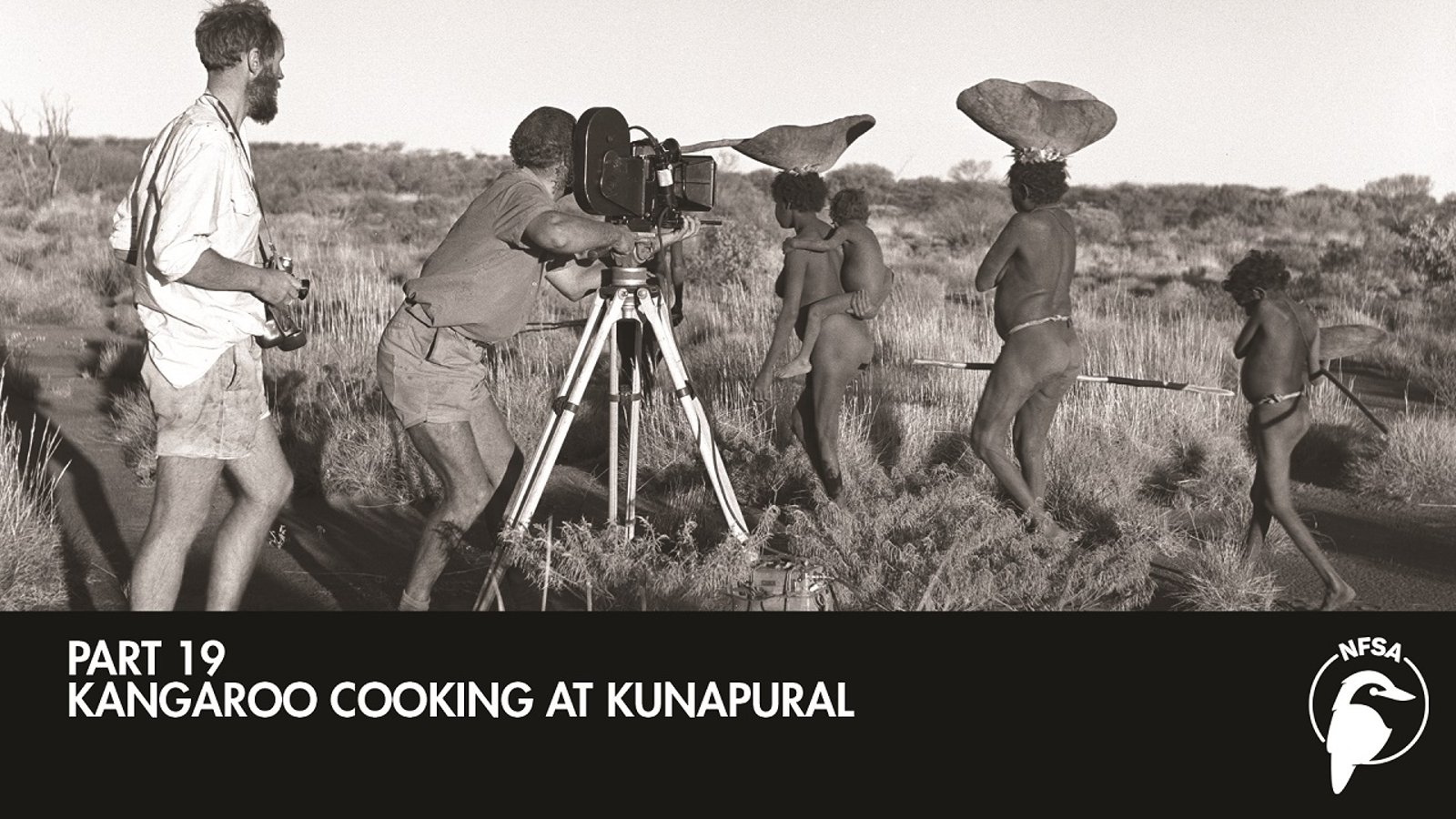 Kangaroo Cooking at Kunapural