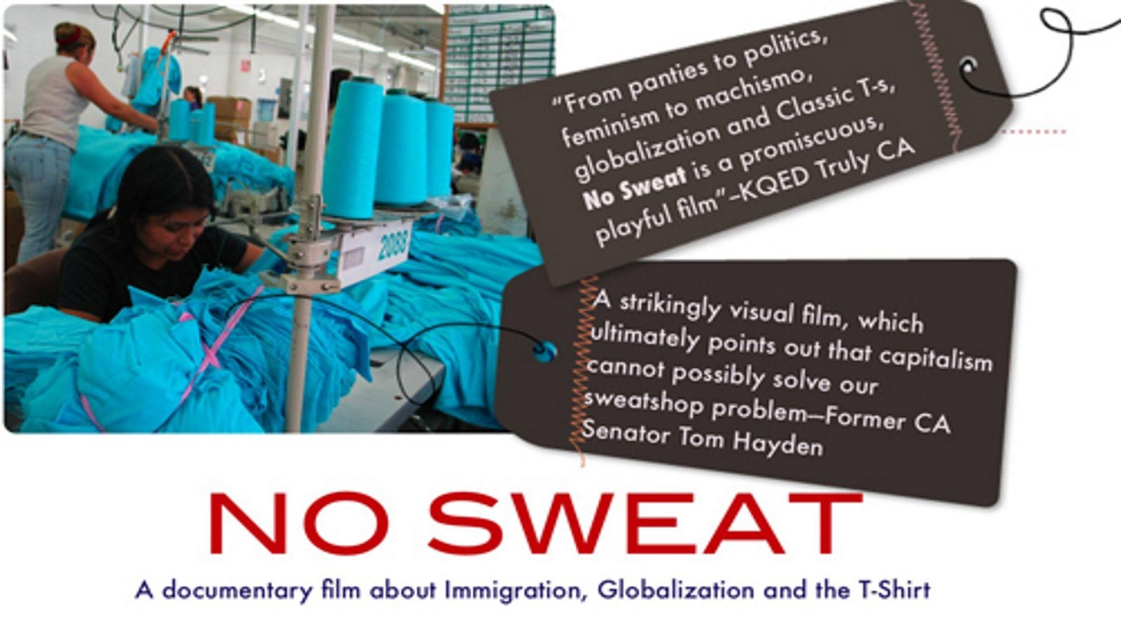 """No Sweat - Lifting the Label Behind the """"Sweatshop-Free"""" Movement"""