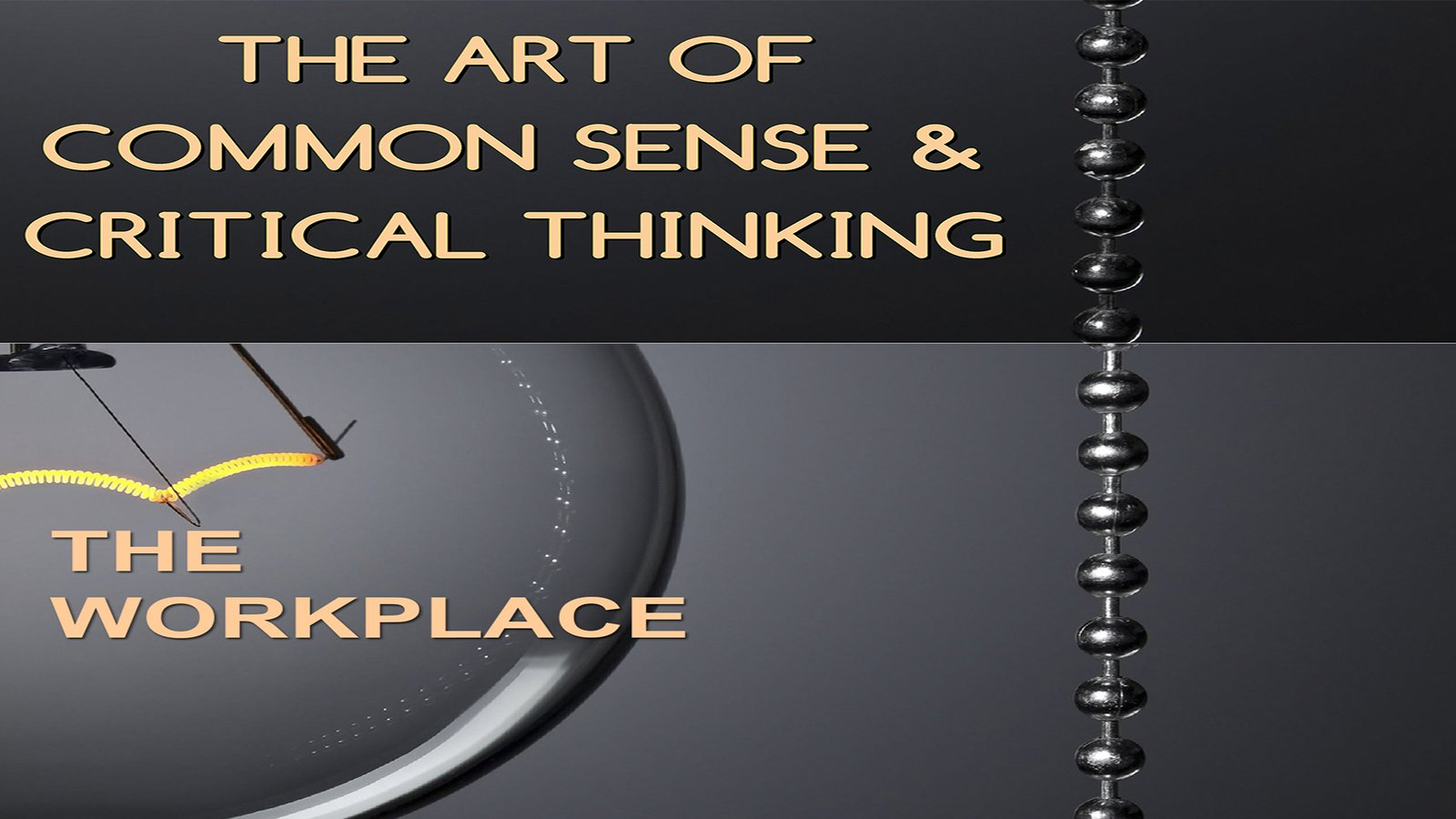 Employee Training The Art of Common Sense & Critical Thinking:The Workplace