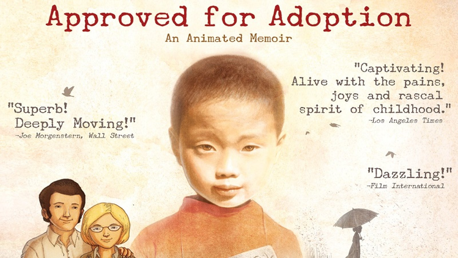 Approved for Adoption - The Story of a Boy Stranded Between Two Cultures