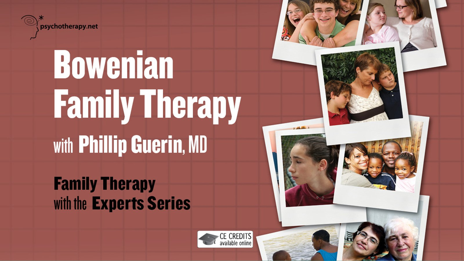 Bowenian Family Therapy - With Philip Guerin
