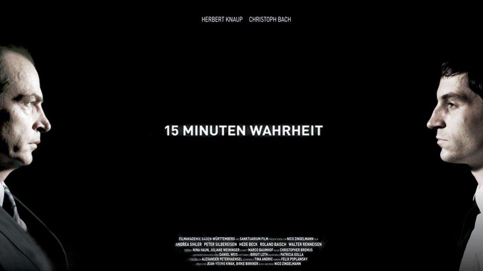 15 Minuten Wahrheit