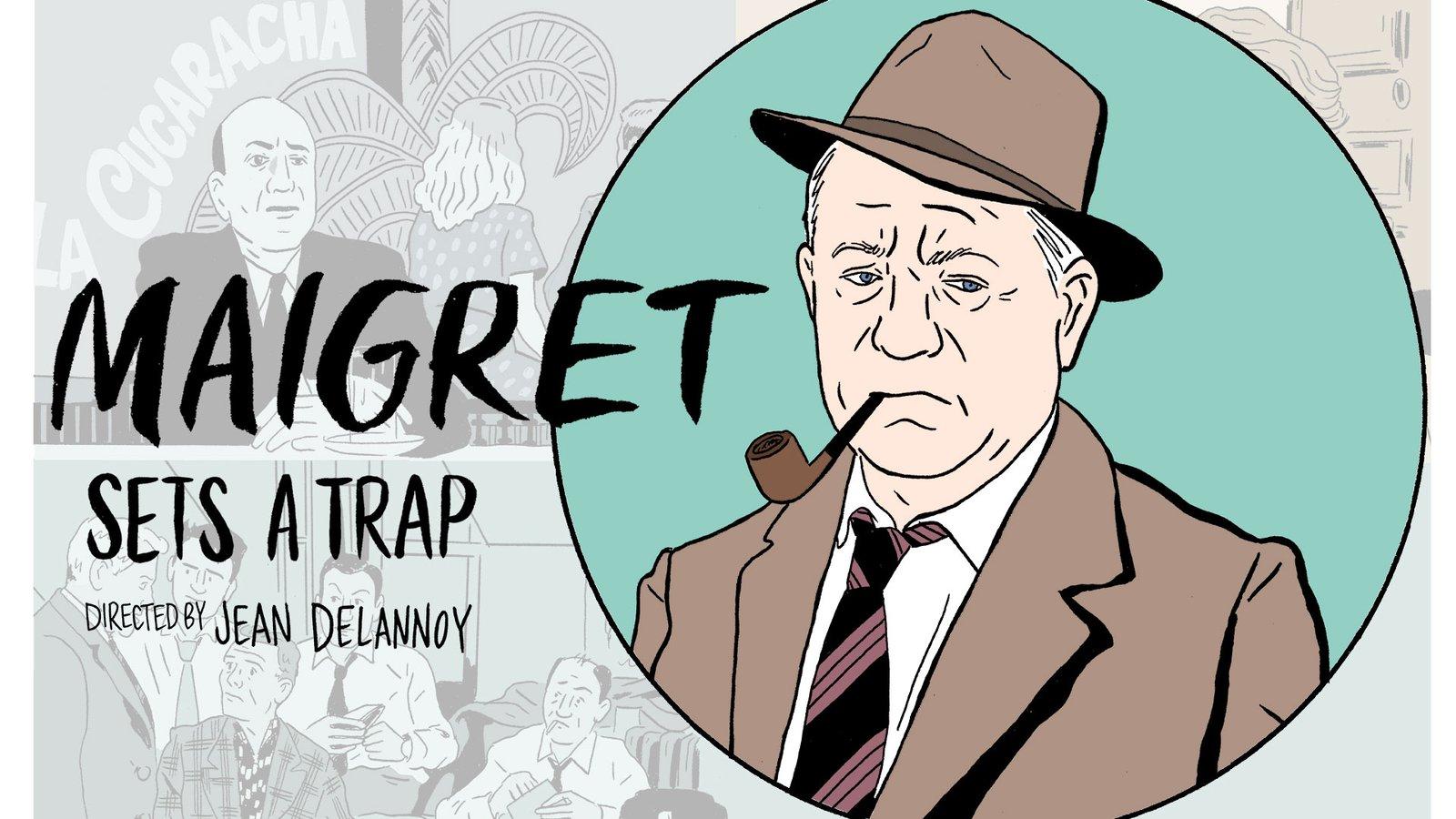 Maigret Sets a Trap - Maigret tend un piège