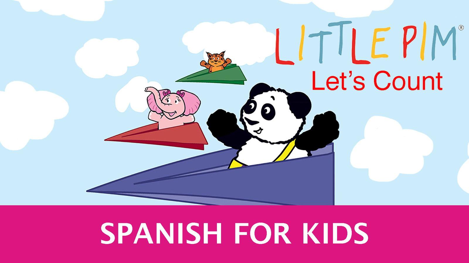 Little Pim: Let's Count - Spanish for Kids