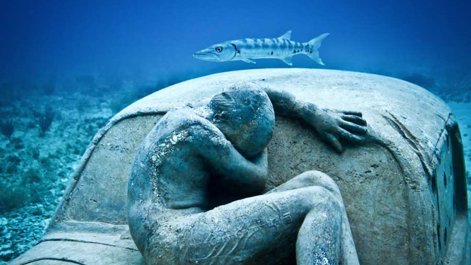 Angel Azul - An Artist Creating Artificial Coral Reef