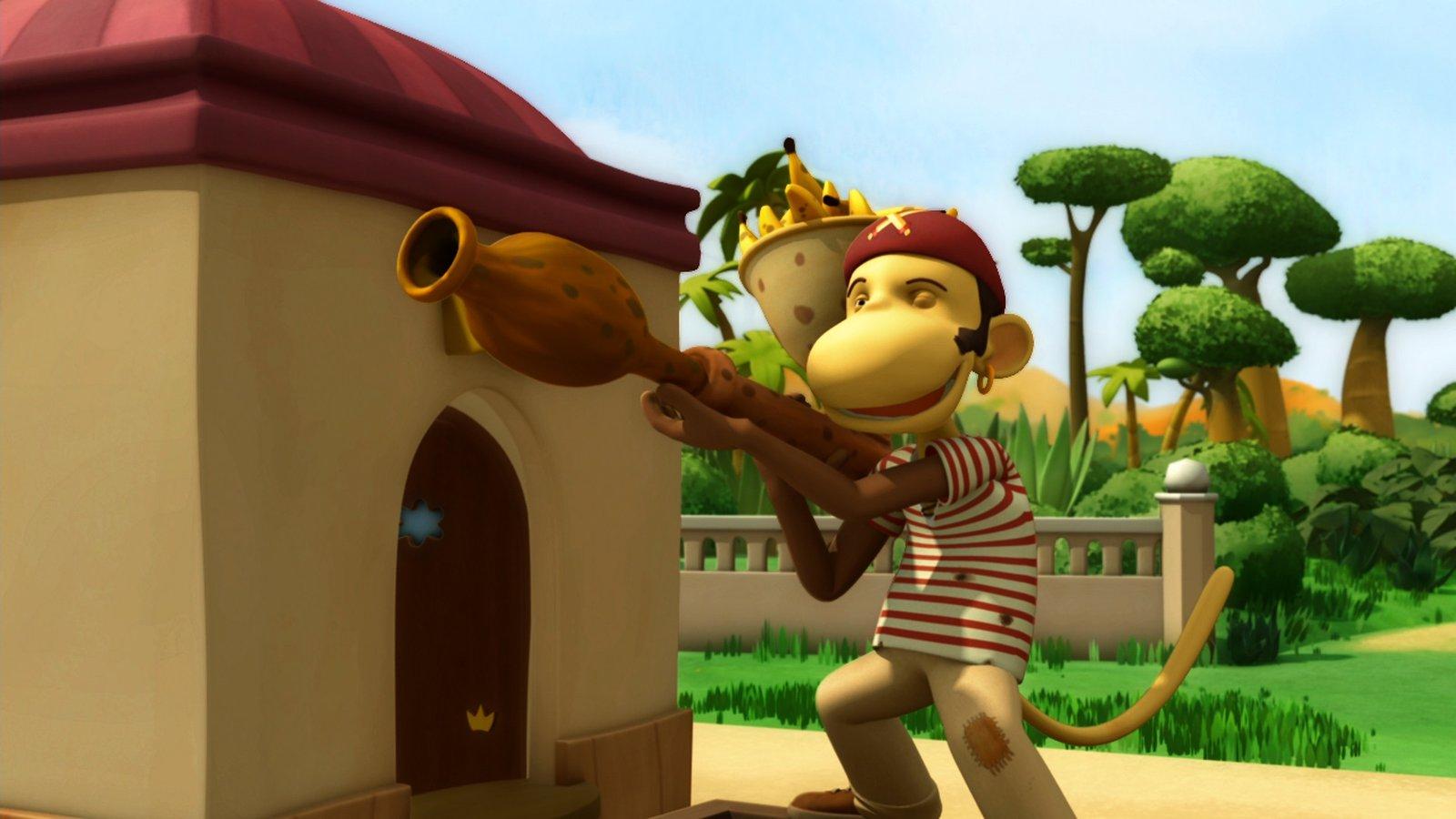 King Badou Vs The Pirates, Parts 1 & 2