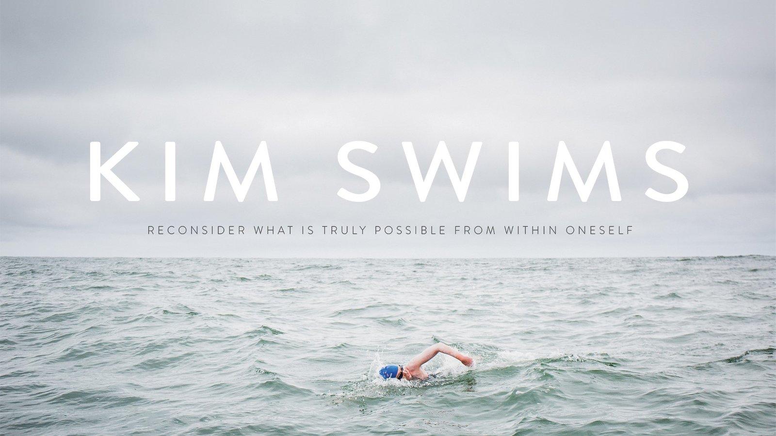 Kim Swims - A Record-Breaking Female Athlete