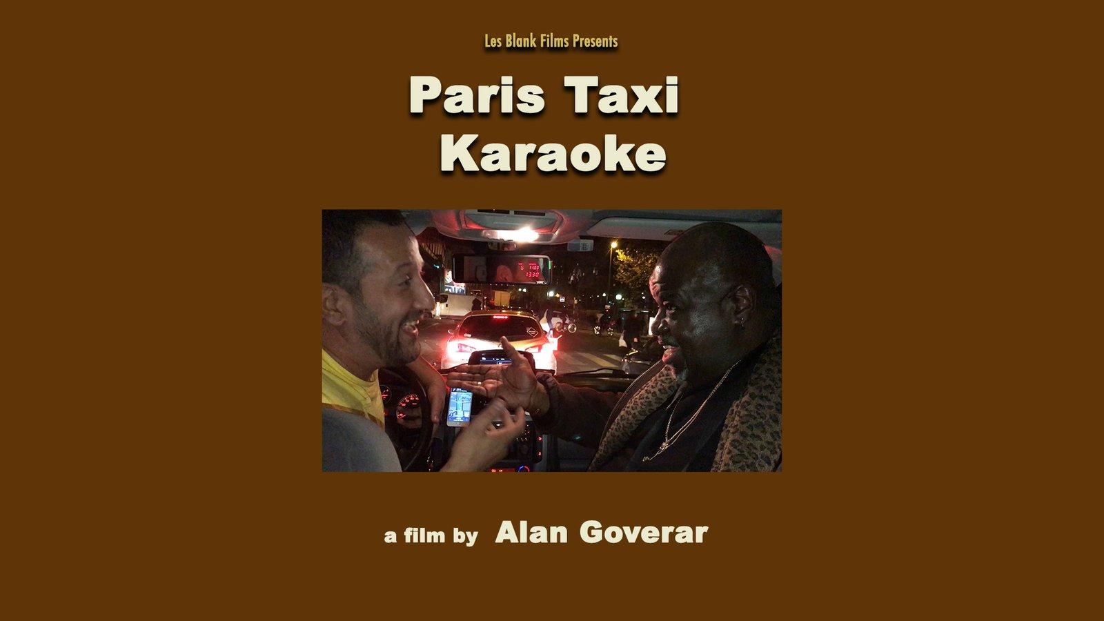 Paris Taxi Karaoke