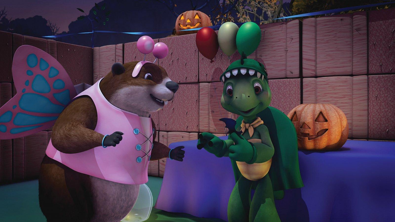 It's Halloween, Franklin / Franklin the Adventurer