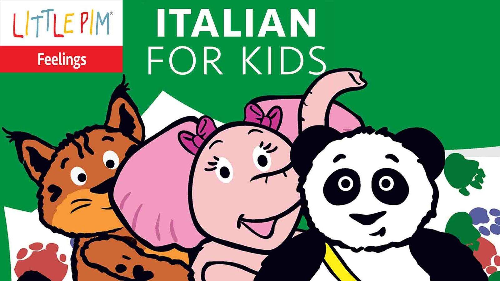 Little Pim: At Home - Italian for Kids