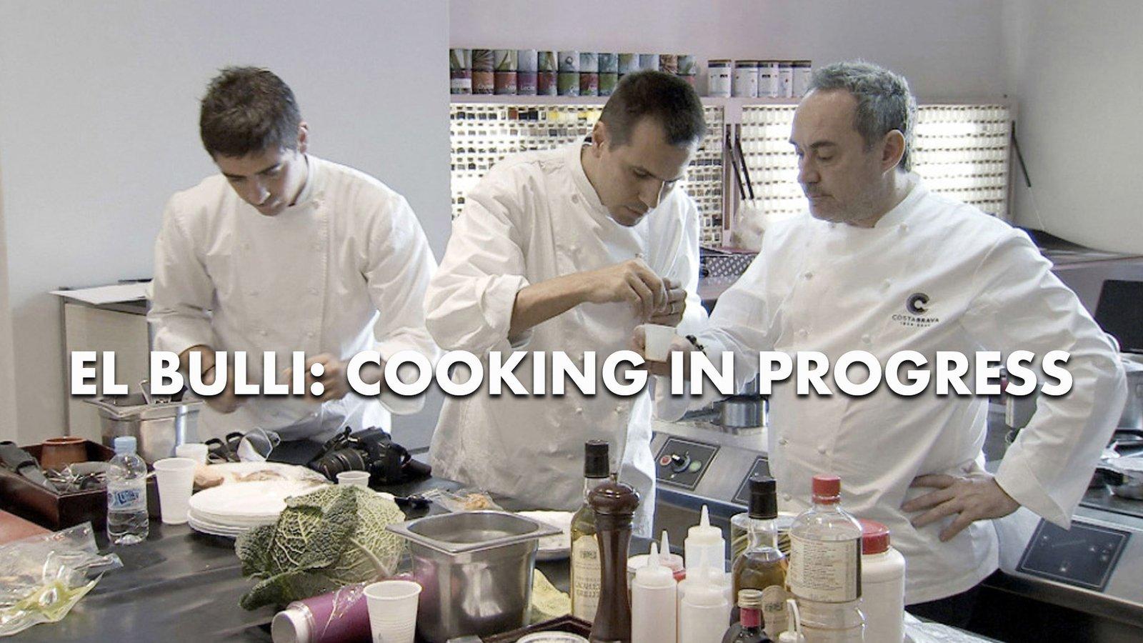 El Bulli: Cooking In Progress - Renowned Spanish Chef Ferran Adrià