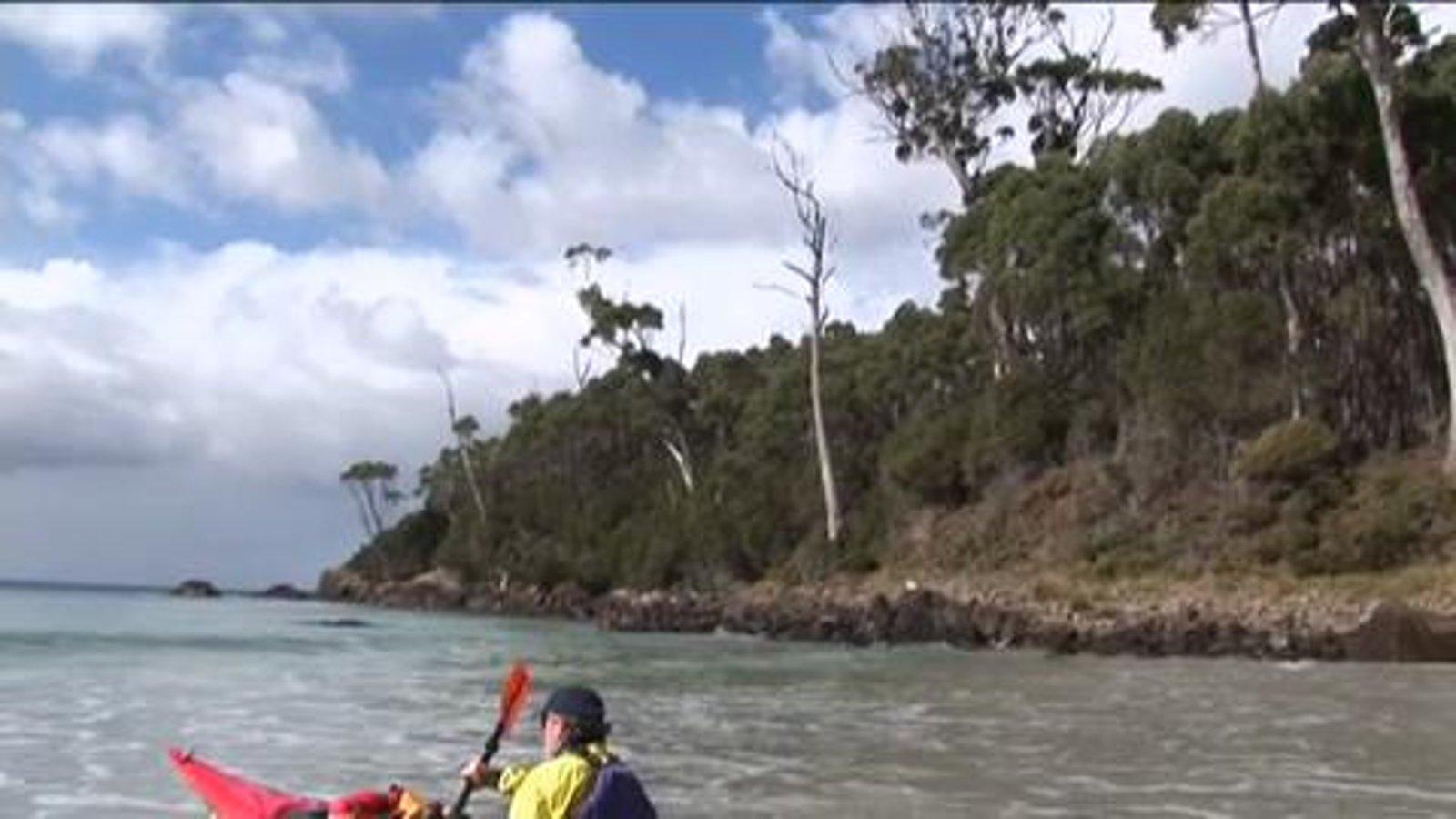 Around Tasmania - Sea Kayaking Australia