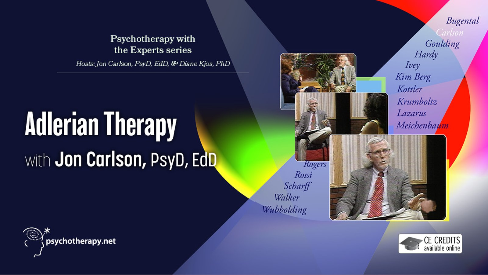 Adlerian Therapy - With Jon Carlson