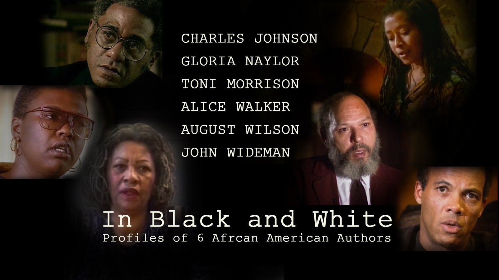 In Black And White - Six Profiles of African American Authors
