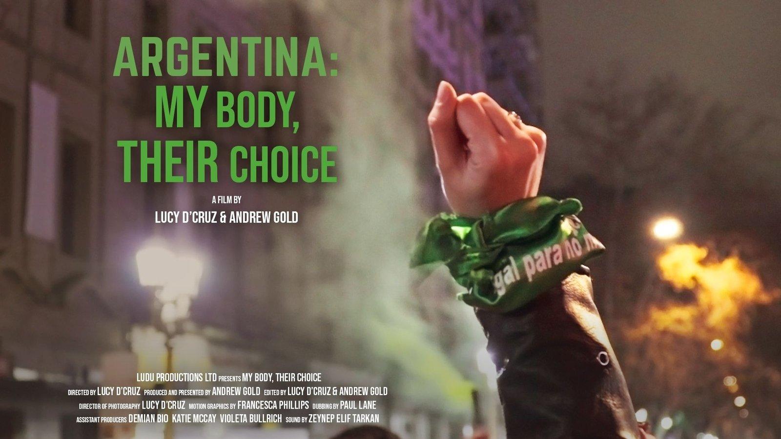 Argentina, My body, Their Choice